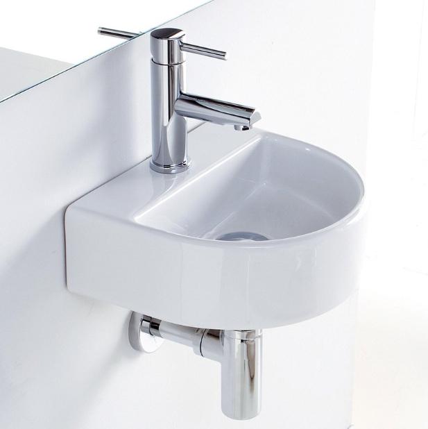 lille handvask rund
