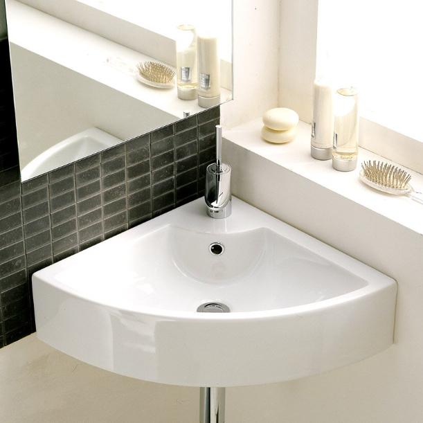 Lille håndvask til hjørne