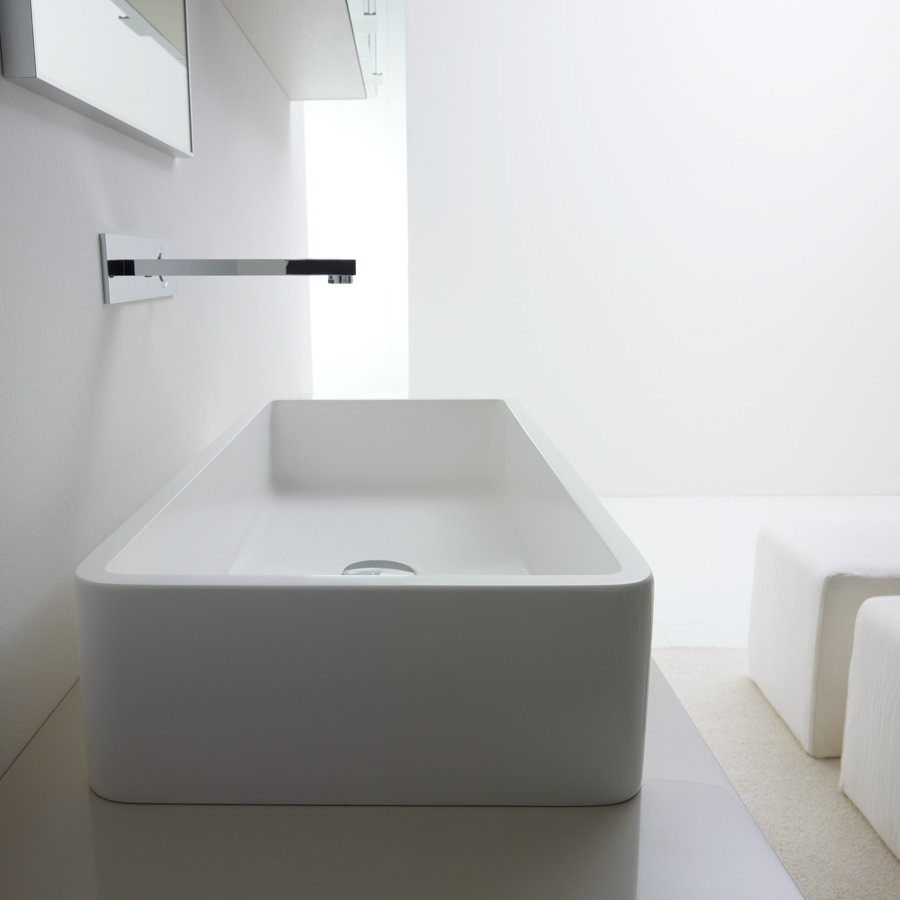 Håndvask på bordplade
