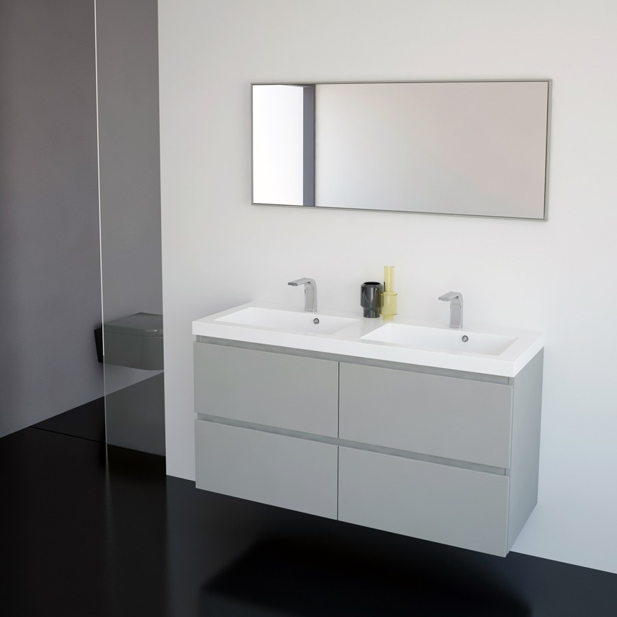 Håndvask med underskab til badeværelset