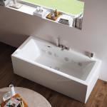 Et badekar der giver spa-behandlinger