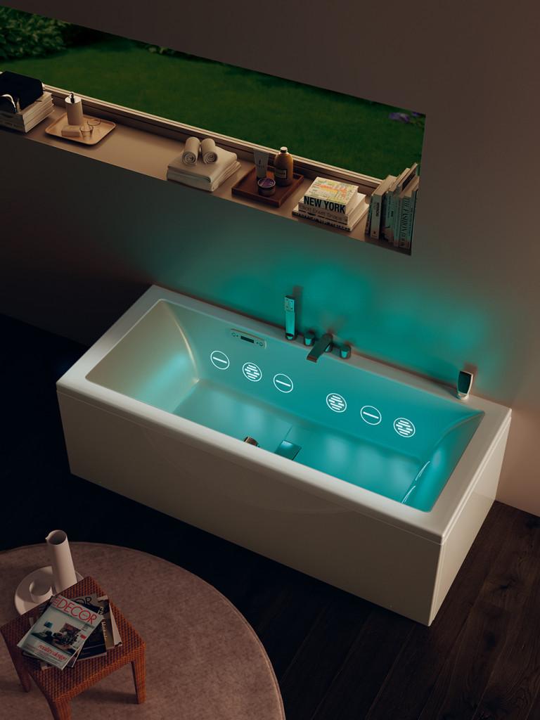 badekar med ultralyd og hydrosonic