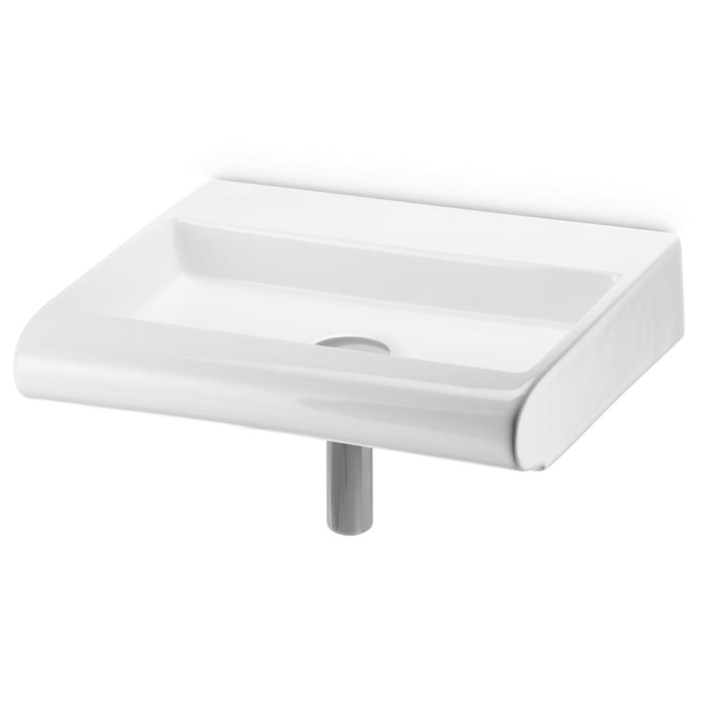 Lille og Smal håndvask - curvet