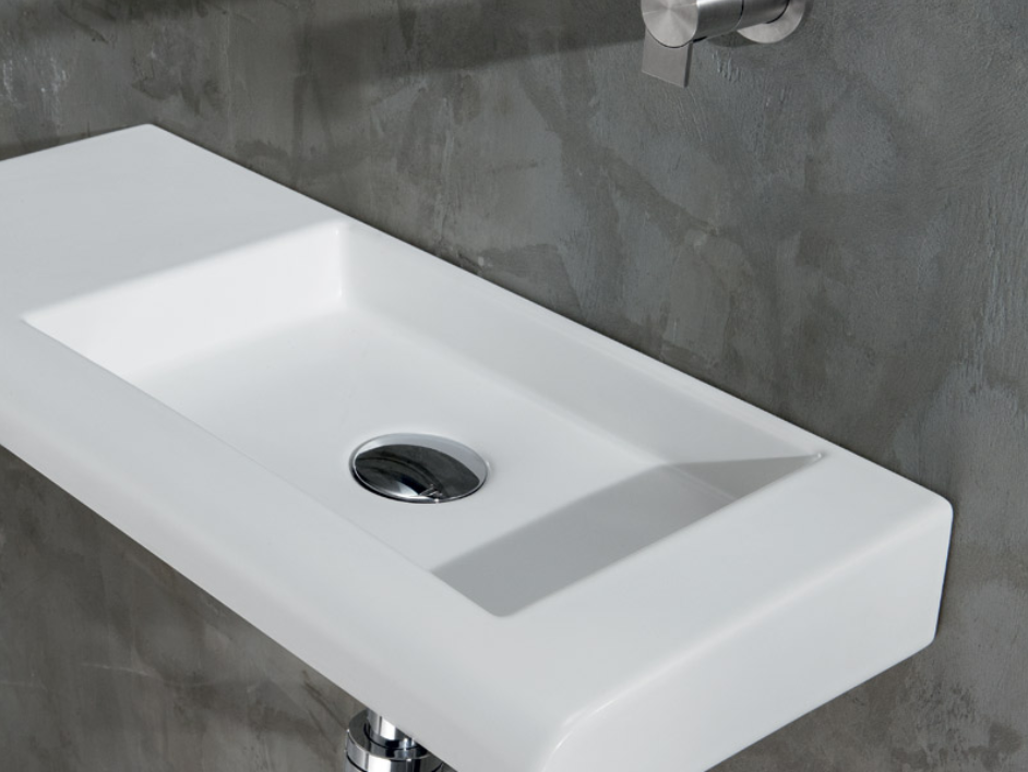 Smal håndvask i flot design