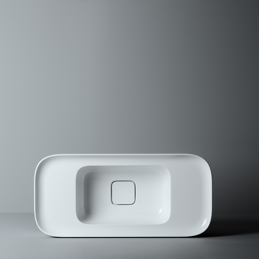 Mini håndvask Cameo no. 1 i firkantet design